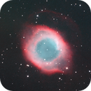 the Helix Nebula in HaO3-LRGB from south Corse,                                Gianni Cerrato