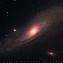 Andromeda Galaxy (M31),                                Delberson