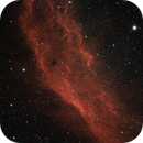 NGC1499 - California Nebula,                                AstroDinsk