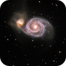 The Whirlpool Galaxy,                                Andrea Girones