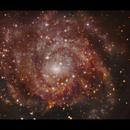 IC342 - The Hidden Galaxy close up,                                Göran Nilsson