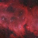 Soul Nebula - three panel mosaic,                                Morris Yoder