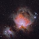 The Orion Nebula (with OSC),                                Nasdaq76