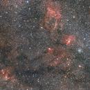 M52,Bubble nebula and Friends,                                Frigeri Massimiliano