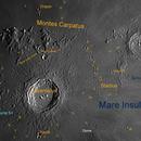 Moon - Copernicus (10 Aug 2019, 19:32UT),                                Bernhard Suntinger