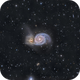 M51 Ha-LRGB with IFN,                                Spoutnik17