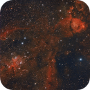 Heart Nebula and the Fish (OSC in Bortle7),                                bobzeq25