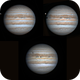 Jupiter with Ganymede shadow transit,                                DiscoDuck