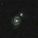 M51 Whirlpool Galaxy,                                James Lechleiter