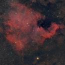 NGC 7000,                                Isometric