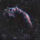 Eastern Veil Nebula in HOO + smaller nebulae,                                AstroForum