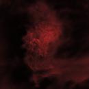 Flaming Star Nebula,                                nerdybeardo