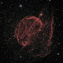 Sh2 224 Supernova Remnant -- HaRGB,                                Mike Mulcahy