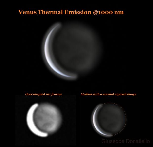 Venus Thermal Emission,                                Giuseppe Donatiello