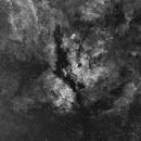 IC1318 en Halpha,                                Georges
