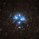 Pleiades (M45),                                Ahmed Saleh Ibrahim