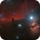 Horsehead and Flame,                                Robin Clark - EAA imager