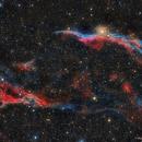 El  Velo  Oeste (NGC6960),                                Raúl López