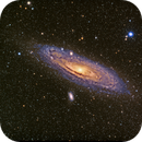 M31 in LRGB from Black Forest Star Party with RedCat,                                Adam T.