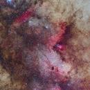 Area Near M24 In HaLRGB,                                astro_m