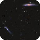 The Hockey Stick (NGC 4656) and Whale Galaxy (NGC 4631),                                Drew Evans
