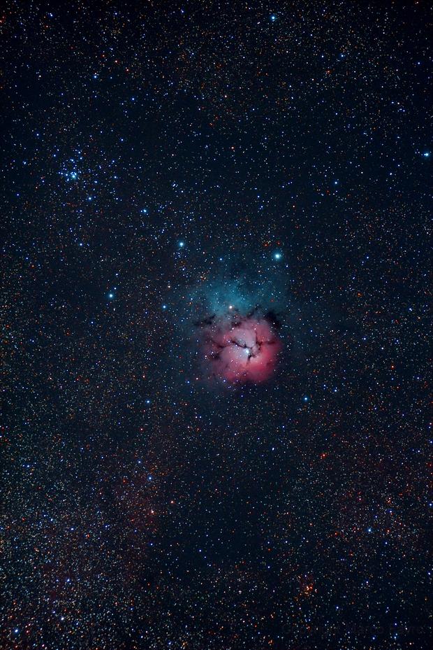 M20 - Trifid Nebula,                                Marco Favro