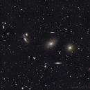 Dancing galaxies - the virgo galaxy cluster,                                Rudolf Bumm