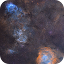 NGC 3199 (wide field),                                Rocco Sung