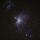 Messier 42 and NGC 1977,                                LOL221