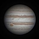 Jupiter & GRS with Io in transit  - 13 April 2015,                                Geof Lewis