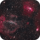 Sh2-157 and NGC 7635 The Lobster Claw and Bubble Nebulae,                                Eshan Toorabally