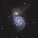 M51 LRGB,                                Mike Matthews