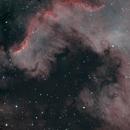 The Dragon in Cygnus (Cygnus Wall HaRO3GB),                                Charles Ward