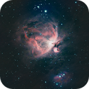 M42 with Samyang 135 and mixed datas from ASI224MC and ASI178MM,                                Ben