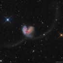 Antennae Galaxies~NGC4038+NGC4039,                                Fluorine Zhu
