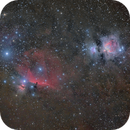 M42 and Orion Belt widefield,                                Jens Zippel