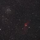 NGC7635 und M52,                                Dietmar Bode
