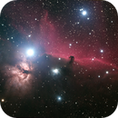 Horsehead Nebula - data from Deep Sky West,                                Sigga
