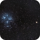 Pleiades and Mars from bortle 9,                                Mohamed Usama Ismail