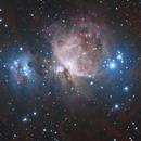 Orion Nebula HDR LHaRGB,                                Gorilla_astro