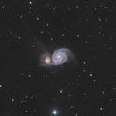 Messier 51,                                Teagan Grable