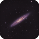 NGC 253 - The Sculptor Galaxy,                                weathermon