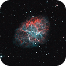 Crab Nebula (HaOIII DSLR),                                Gianluca Belgrado