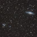 NGC 7331 et Quintette de Stephan,                                Bernard Augier