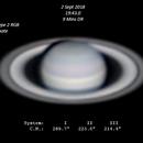 Saturn - 2 Sept 2018,                                Geof Lewis