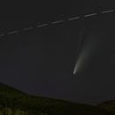 C/2020 F3 Neowise and ISS,                                Lorenzo Palloni