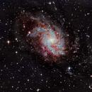 M33 Triangulum Galaxy,                                Eri