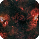Ha-LeXtreme Image of M16 and M20,                                Clemley