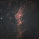 The Statue of Liberty Nebula,                                Laurence Pap
