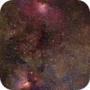 Messier 16/Messier 17 region,                                Giuseppe Donatiello